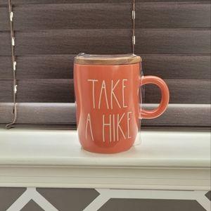 Rae Dunn Mug TAKE A HIKE 😁🚶♂️⛺